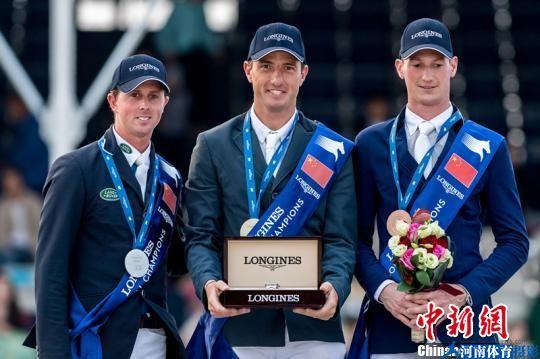 比利时骑手获上海环球马术冠军赛最高组别冠军