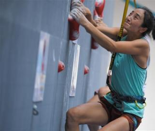 2018中国攀岩联赛(湖南长沙)开赛