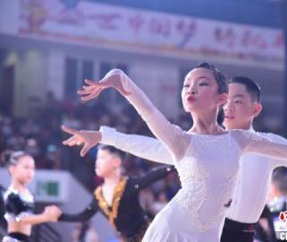 中国体育舞蹈公开赛广西开赛