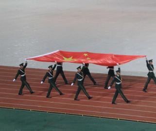 河南省第十三届运动会在周口开幕