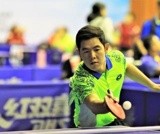 河南省第十三届运动会乒乓球社会组青壮组男、女单打比赛结束