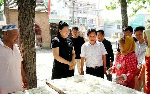 新蔡县开展开斋节慰问活动