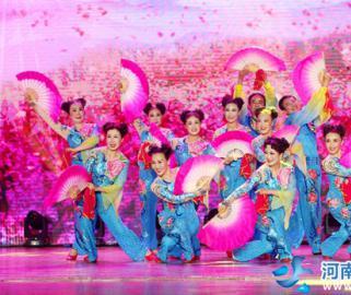 第八届河南省老年人文体优秀节目大赛在焦作举行