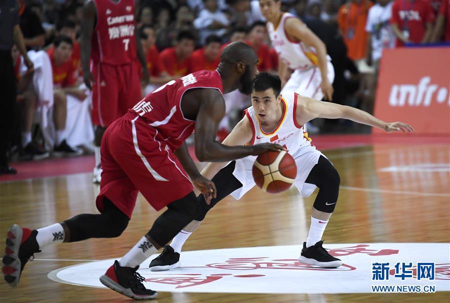 国际男篮对抗赛:中国刺入了三号胜喀麦隆