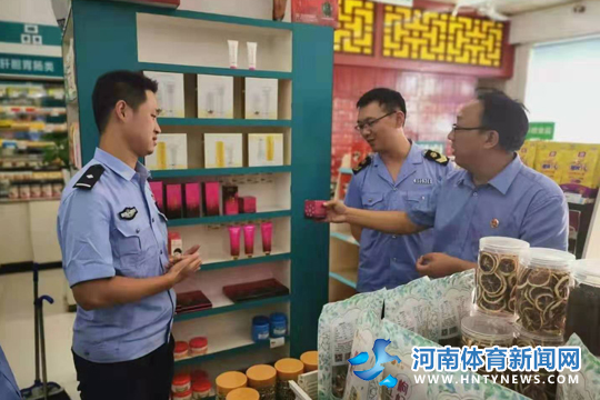 驻马店♀市公安局开展打击食药环犯罪专就是两人在组织项检查活动