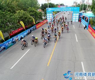 2019环中原自行车公开赛在商丘睢县站开赛