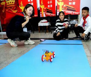 郑州举办中小学生科学运动会