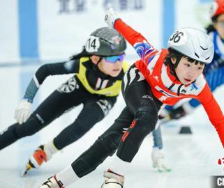 这项公开赛面向所有滑冰迷,北京站最小选手仅3岁!