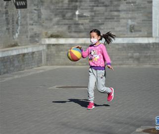 全民健身:街头运动 乐享春光