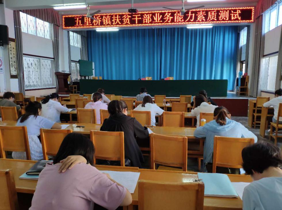西峡县五里桥镇:开展扶贫业务培训 提升工作能力