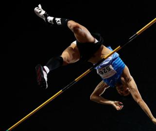 全国田径锦标赛:男子撑杆跳高决赛赛况