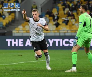 足球――欧洲国家联赛:德国胜乌克兰