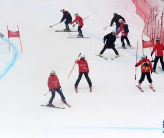 北京冬奥会和冬残奥会延庆赛区测试活动持续进行