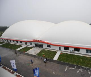 2022年北京冬残奥会新建备战训练场馆落成