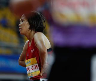 """""""相约幸福成都""""田径邀请赛:女子5000米决赛赛况"""