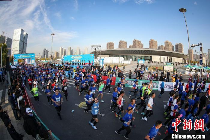 2020太原国际马拉松赛资料图 太马组委会 摄