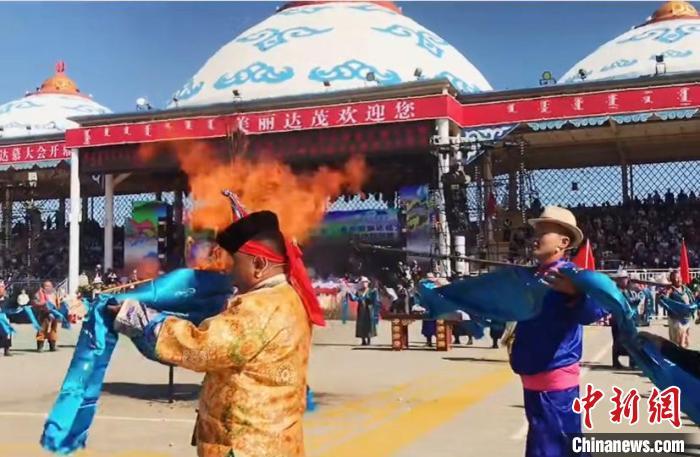 内蒙古旅游那达慕开幕30余项活动点亮草原