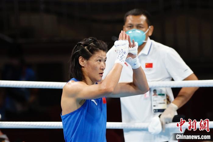 东京奥运会:中国拳手谷红表示没想到能进入决赛