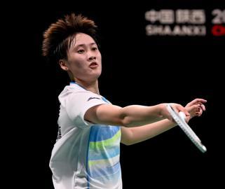 全运会-羽毛球女单半决赛:陈雨菲胜王祉怡
