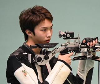 全运会-射击男子10米气步枪团体决赛:河北队夺冠